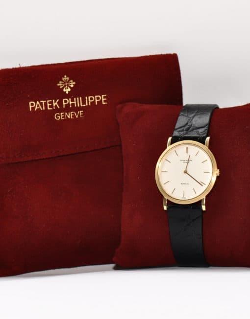 patek philippe 750er gold uhr von 1967 zertifikat. Black Bedroom Furniture Sets. Home Design Ideas